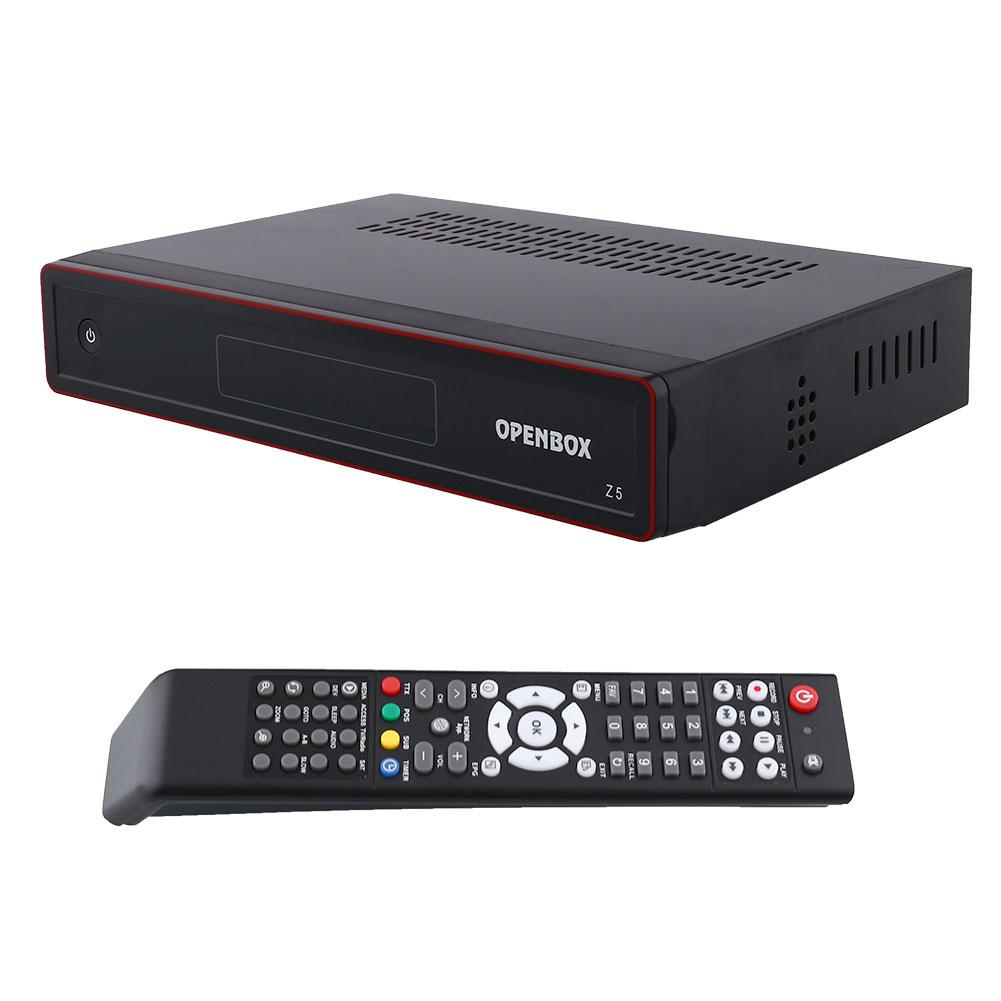 New Openbox Z5 PVR FTA HD TV Satellite Receiver Box USB Google Map UK-Plug +hdmi cable +remote control Black(China (Mainland))