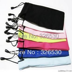 Free shipping-Waterproof cloth glasses bag mobile phone bag jewelry bag multi-purpose hang bag