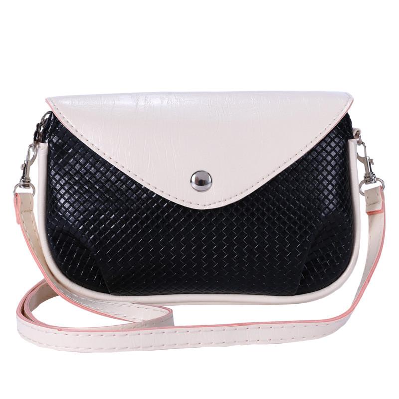 2016 New Women Popular Fashion font b Plaid b font Series Crossbody Bag High Quality PU