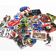 NEW 500 pcs mixed  laptop snowboard luggage decor jdm brand car sticker on car styling decal motorcycle doodle stickers(China (Mainland))