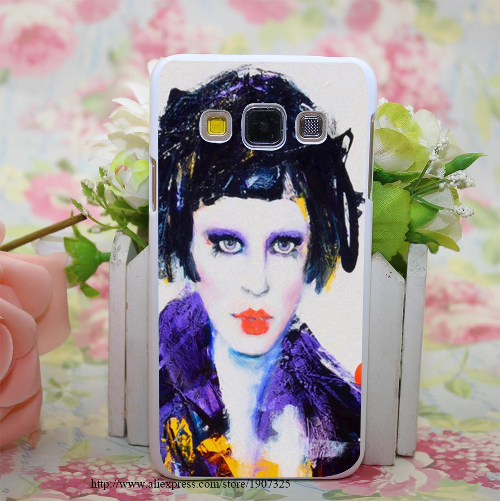 China Doll Style Hard White Case Cover for Samsung Galaxy A3 A5 A7 A8 Note 2 3 4 5(China (Mainland))