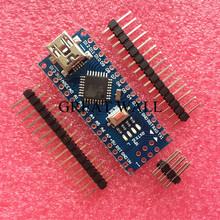 Freeshipping ! Nano 3.0 controller compatible for arduino nano CH340 USB driver NO CABLE