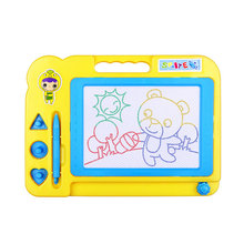 NEW Magnetic Drawing Board Sketch Pad Doodle Writing Craft Art for Children Kids Pink Color Wholesale(China (Mainland))
