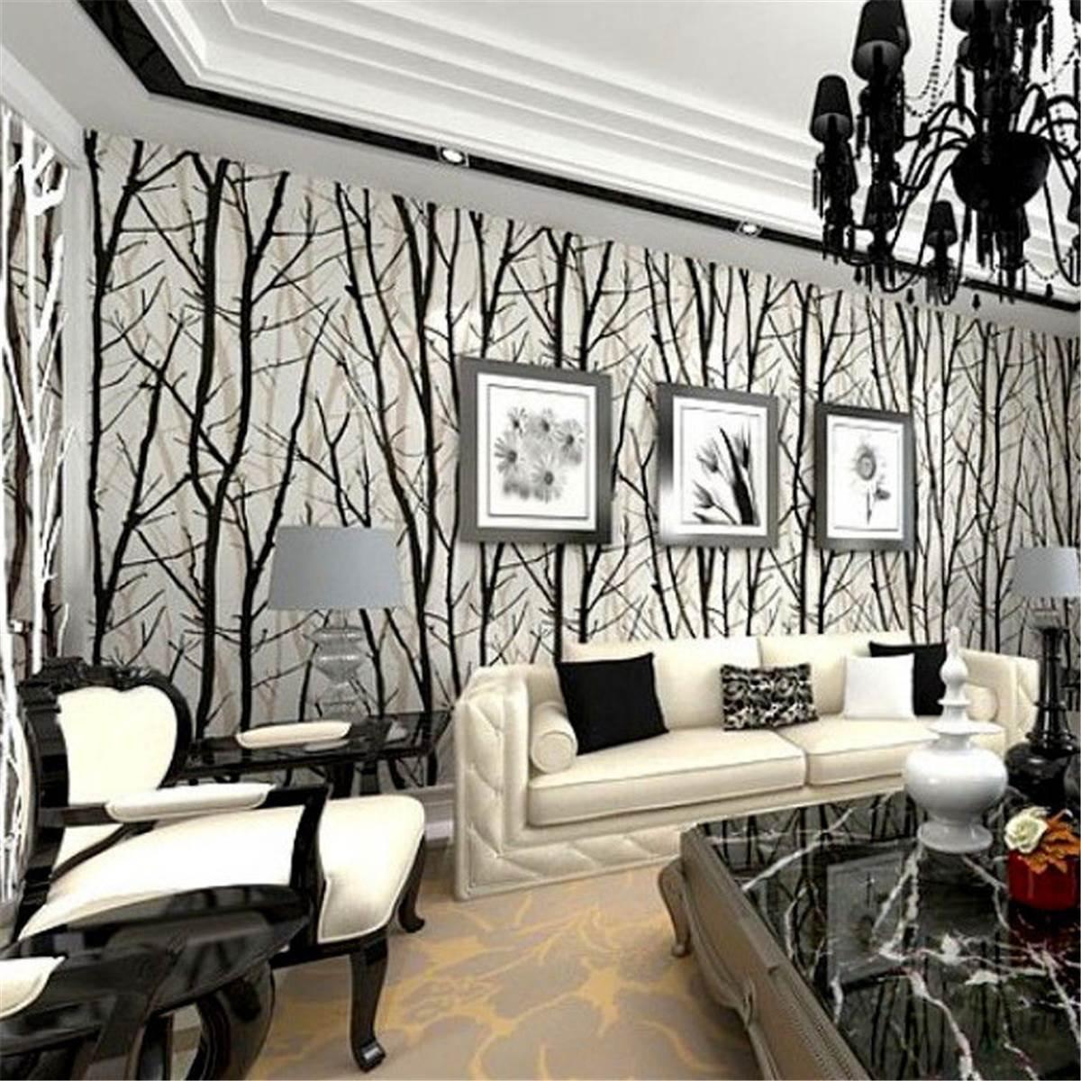 Online kopen Wholesale black and white tree decoration uit China ...