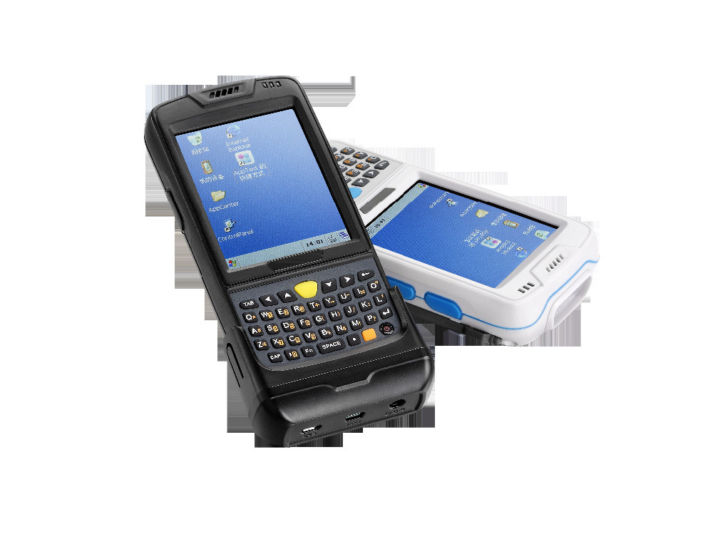 3.5'' industry handheld data collection terminal pda with windows CE os, 1D/2D scanner,wifi,USB(Hong Kong)
