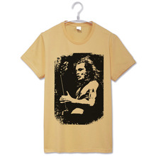 Buy acdc let rock guitar solo rock n roll fashion vintage rock t shirt for $9.43 in AliExpress store