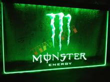 LE207- Energy Drink LED Neon Light Sign home decor shop crafts(China (Mainland))