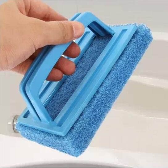Creative bathroom bathtub clean brush floor brush universal cleaning appliance bath brush 3pcs/lot free shipping hot selling(China (Mainland))