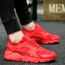 9a1812e9e9b Running Shoes for Man 2019 Braned Black White Sports Shoes Men Sneakers  Zapatos Corrientes Verano Red