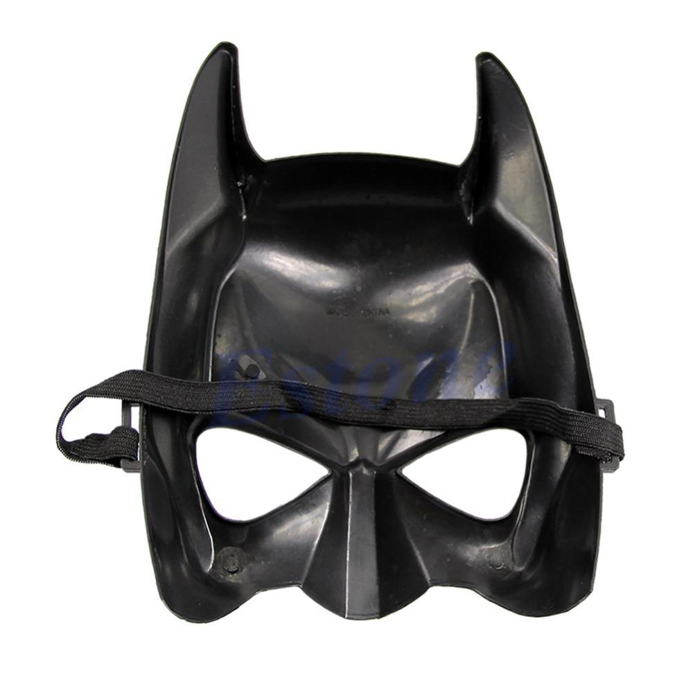 D19Halloween Batman Mask Adult Masquerade Party Mask Bat Man Face Costume
