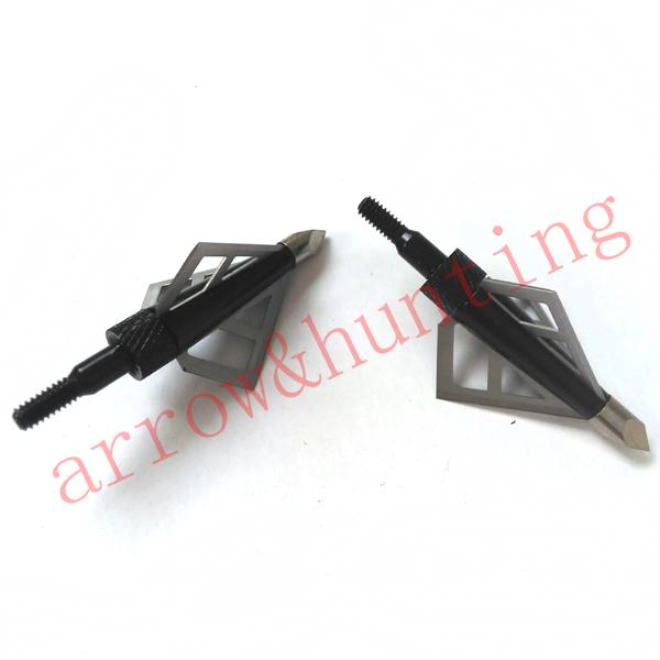 6pcs archery bow broadhead 3 blades carbon crossbow arrow head arrow point for compound bow and