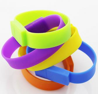 Silicone Bracelet Wrist Band USB Flash Drive 64gb 2.0 Stick Pendrive U disk Memory Pen 32gb 16gb 8gb 4gb - Shenzhen Wales Technology Co., Ltd. store