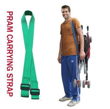 Baby Stroller Carrying Strap , Length Adjustable Multiple Color Choices