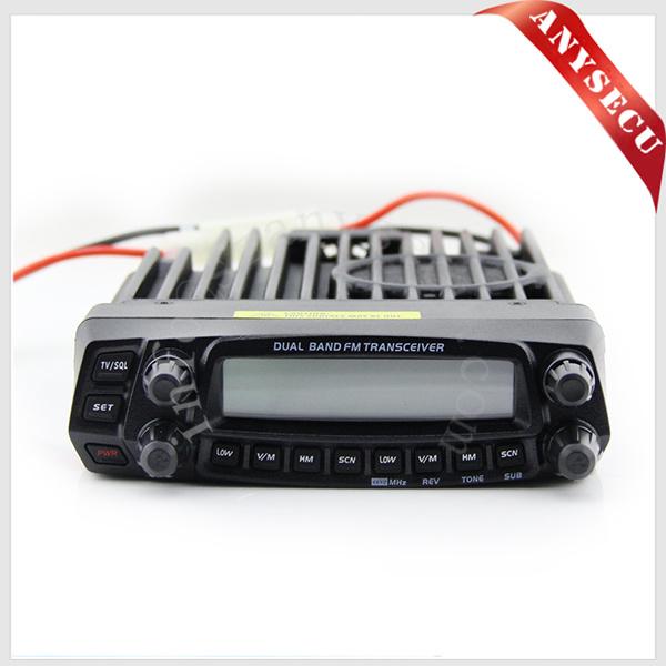 Anytone AT-588UV Powerful dual band mobile car radio AT-5888UV FM transceiver(China (Mainland))