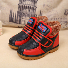 Estilo británico niño niños niñas botas de goma ocasional infantil botas impermeables niños nieve botas zapatos niños de invierno Bottine TX170(China (Mainland))