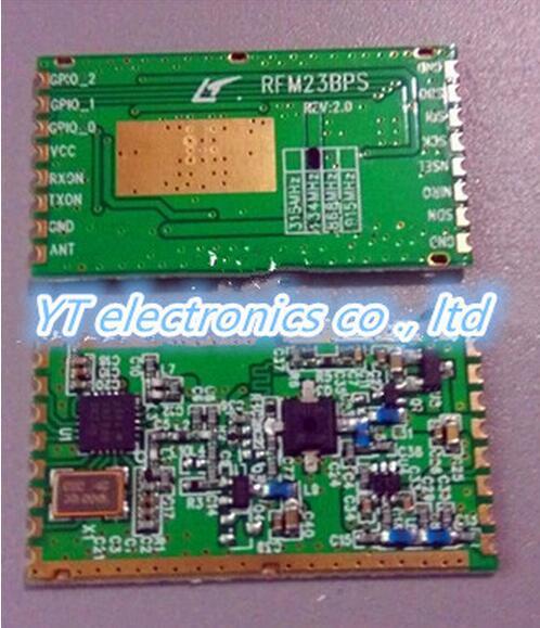 Free shipping 2pcs/lot RFM23BP enhanced power rf transceiver RFM23 RFM23BP(China (Mainland))