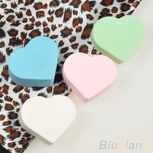4x Makeup Sponge Blender Powder Smooth Heart Shape Puff Flawless Beauty Foundation 1QBR