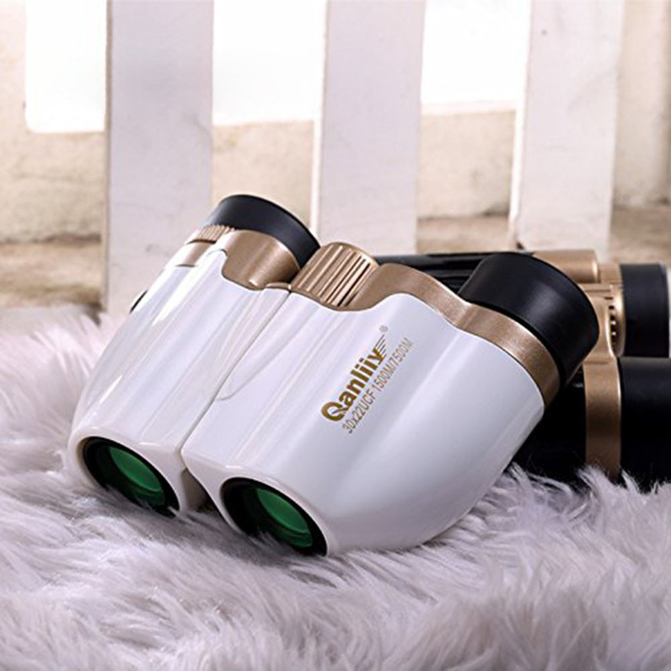Pocket Size 30X22 Portable Waterproof HD High Definition Vision 500/7500m Travel Binocle Concert Necessary Binoculars Telescope(China (Mainland))