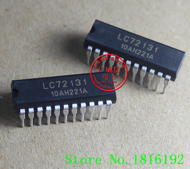 Free Shipping LC72131 DIP20 AM / FM PLL Frequency Synthesizer(China (Mainland))