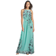 Buy WJ Women Lady Sexy Summer Boho Long Maxi Evening Party Beach Dresses Elegant Bodycon Chiffon Ukraine Dress Plus Size S-6XL for $8.35 in AliExpress store