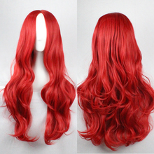75cm Red Curly Perruque Sex Products Pelucas Drag Queen Synthetic Wigs Ombre Wig Cheap Anime Cosplay Wigs Tokyo Ghoul Peruca