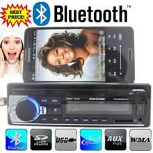 New 12V bluetooth car Radio car stereo bluetooth MP3 Audio Player Bluetooth USB SD MMC Port Car Electronics In Dash one DIN size(China (Mainland))