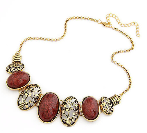 Men Jewelry Special Offer Real Collier Accessories 2015 X255 Oval Necklace Female Short Korea Fashion Necklaces & Pendants Gift(China (Mainland))
