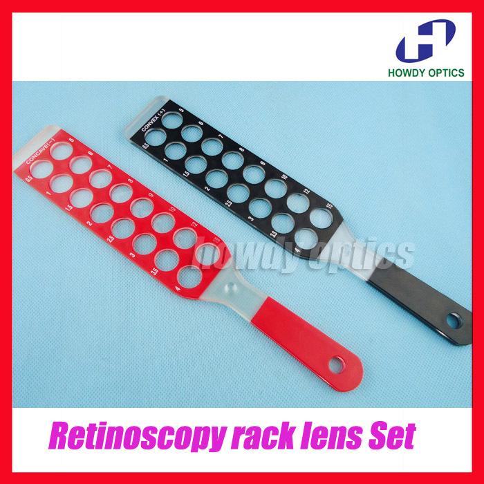 Trial Lens Retinoscopy Retinoscopy Rack Lens Set