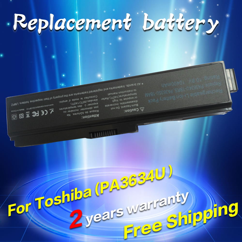 New Battery For Toshiba Satellite C600 C640 C675 L600 L630 L640 L650 Keyboard Satelite L735 L745 C645 L645 L635 12 Cells Laptop Pro 3000 C650 C660 C660d L510