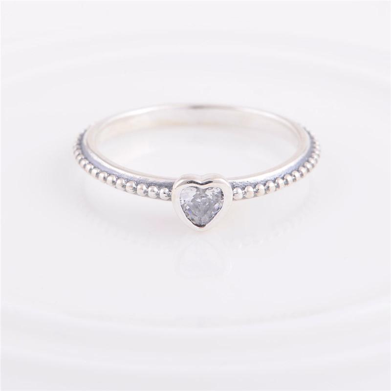 silver heart ring pandora. Black Bedroom Furniture Sets. Home Design Ideas