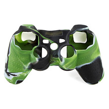 Camouflage Pattern Anti-skid Silicone Protective Case Shell Skin for PS2 and PS3 Controller