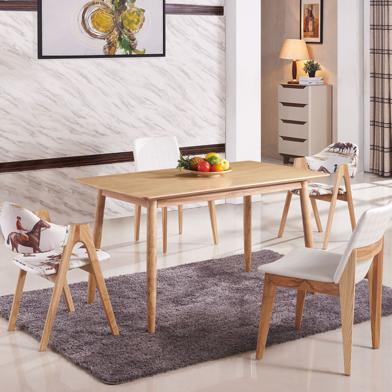 Luxurious Solid Wood Dinning Table Furniture With Chairs/Home furniture /DINNER DESK(China (Mainland))