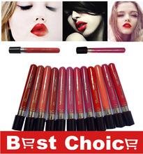 High Quality Moisture Matte Color Waterpro of Lipstick Long Lasting Nude lip stick lipgloss 12 colors vitality cerise star