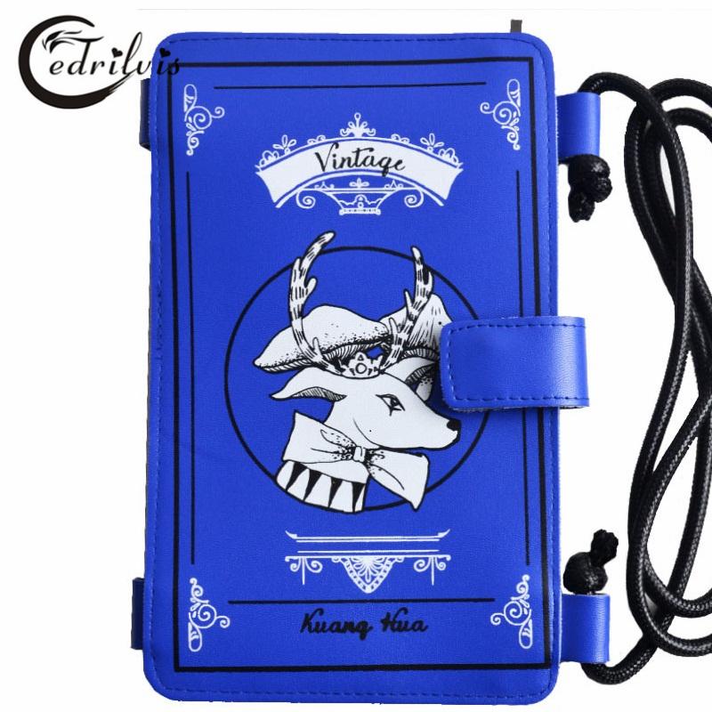 Magic Book Model Women Messenger Bag W178 Pu Mini Lady Phone Bag Art Style Crossbody Bag Magic Book Model Women Messenger Bag(China (Mainland))