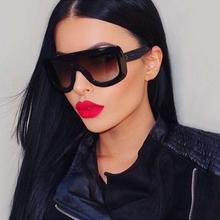 Rivet Retro Black Ladies Sunglasses Women Brand Designer Sexy Sun Glasses for Women Flat Top Vintage Luxury Sunglasses Female(China (Mainland))