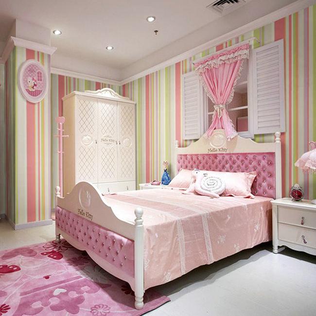 stripes wallpaper for children bedroom wall paper kids colorful kids