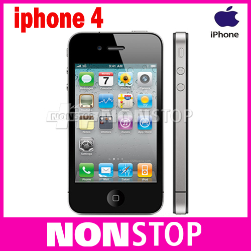 Unlocked Original Apple iPhone 4 iOS 16GB/32G ROM 3.5 inches 5MP Camera WIFI GPS Apple A4 Cell Phone(China (Mainland))