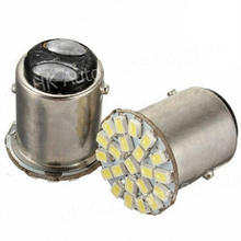 100pcs/lot Car Led Lamp P21/5W 1157 BAY15D 22 smd led 1206 22led 22SMD  DC 12V Brake Light Turn Signal Reverse Light Hot Sales(China (Mainland))