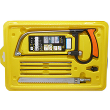 Multi-Function Woodworking Hand Hacksaw Set 245MM*100MM Bow Saw Detachable Portable Hand Saw Combination Tools(China (Mainland))