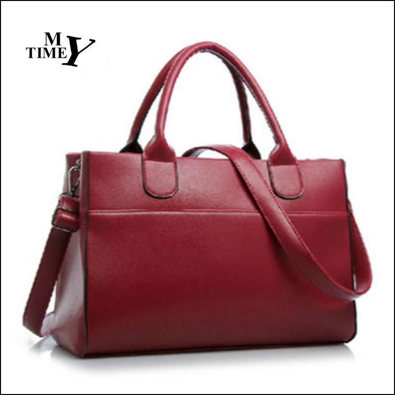 PU Women Leather Handbags 2015 Fashion Women Handbag Leather Handbags For Women Bag New Design Women Messenger Bags Leather Bag(China (Mainland))