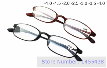 1pc/lot Fashion TR90 Reading Glasses Super Light Soft Small Frame Spectacles Reader Black Brown Multi Color Eyeglass +1.0 - +4.0