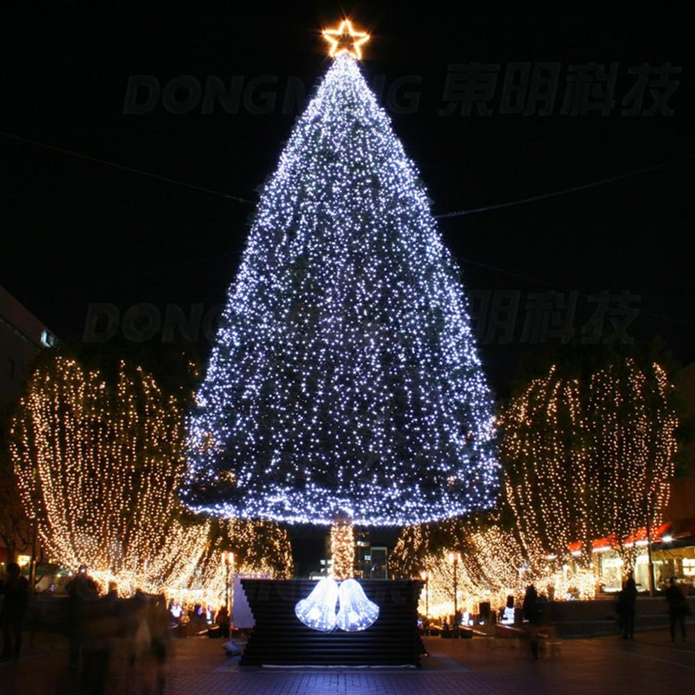 on sale led christmas tree light 10m 50leds led string light ac110 220v warm white rgb colorful. Black Bedroom Furniture Sets. Home Design Ideas