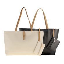 Buy Factory outlet handbag classic women bags womans handbag leather black beige ladies bags Tote Purse Shoulder Bag Vy for $10.21 in AliExpress store