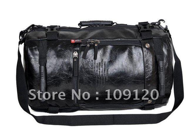 FREE SHIPPING Backpack bag  Travel tactical  duffle pu leather military rucksack sports bag kids back pack  shoulder bag solar