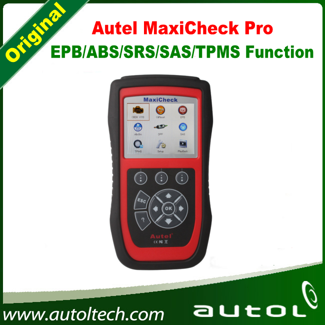 100% Autel MaxiCheck Pro EPB/ABS/SRS/SAS/TPMS System OBD Airbag SRS Scan Reset Tool(China (Mainland))
