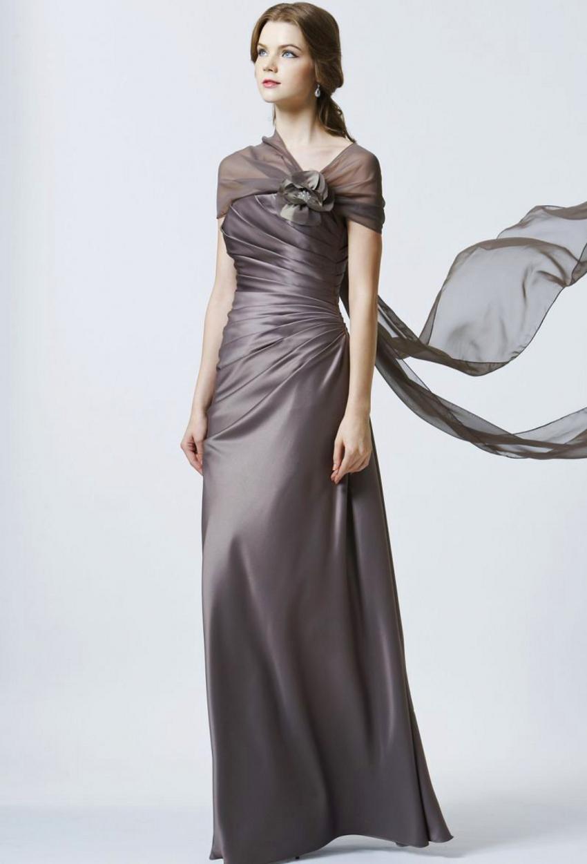 buy sexy custom made satin floor length formal elegant long evening dresses. Black Bedroom Furniture Sets. Home Design Ideas