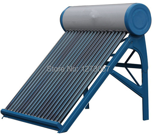 58*1800mm 18 Tubes Generous Blue Solar Collector Non-pressure Family Solar Water Heater(China (Mainland))