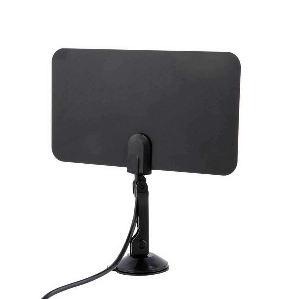 Digital Indoor TV Antenna Ready HD Flat Design High Gain HDTV DTV HD VHF UHF Box(China (Mainland))