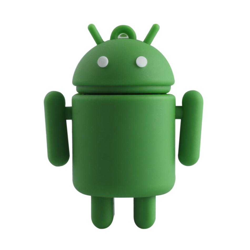 cartoon Android robot usb flash drive 4gb 8gb 16gb 32gb 64g pen drive usb 2.0 memory stick pendrive free shipping usb stick(China (Mainland))