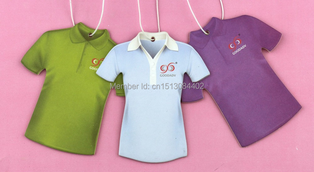 Many kinds of perfumes for option Goodadv brand original shirt shape design fashion car air freshener free shipping(China (Mainland))